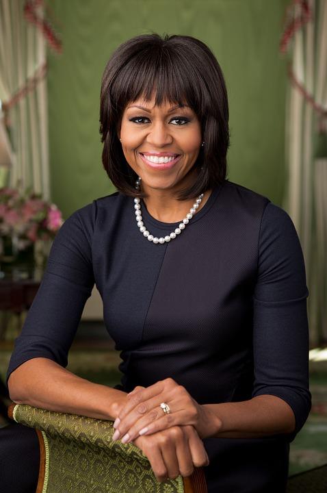 Michelle Obama jako nejobdivovanější žena Ameriky